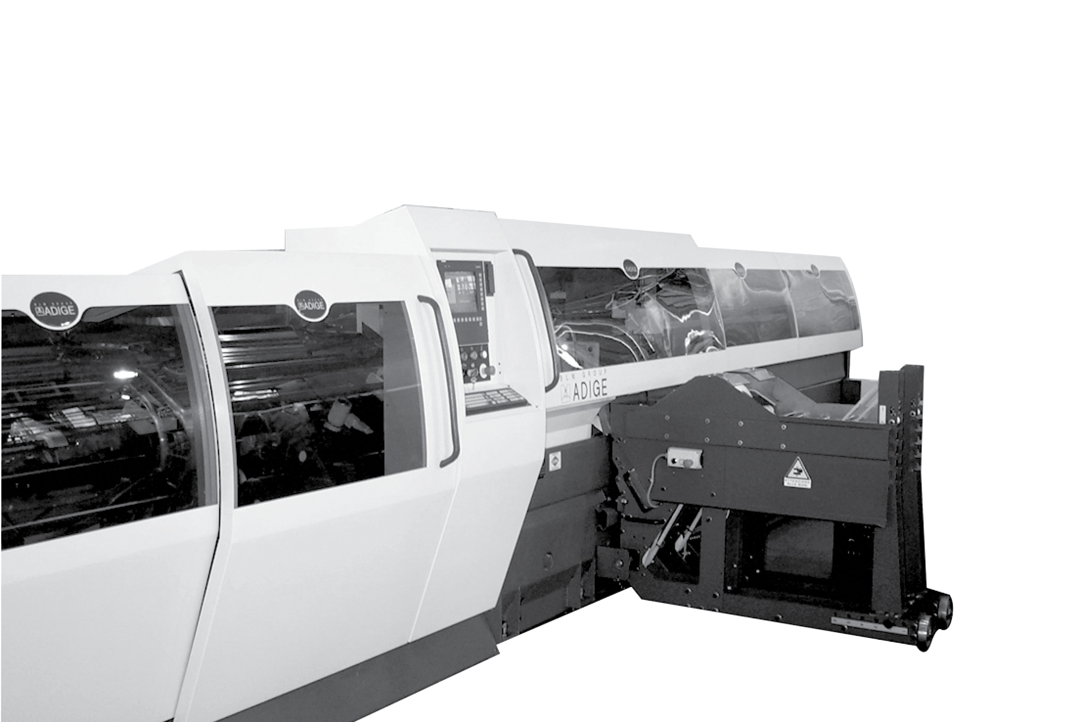 Design carrozzeria macchina segatrice tubi BLM Group