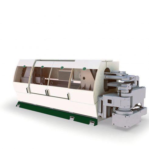 Azienda: BLM GROUP Progetto: VB 190 Anno: 2004 Industrial design ed engineering della carrozzeria per macchina Curvatubi.