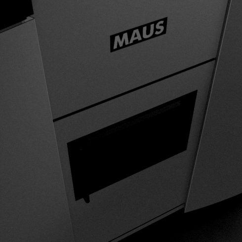 028 PORTFOLIO MAUS MTV 308 Industrial design ed engineering della carrozzeria per Tornio Verticale. Produzione prototipo e gestione della pre serie