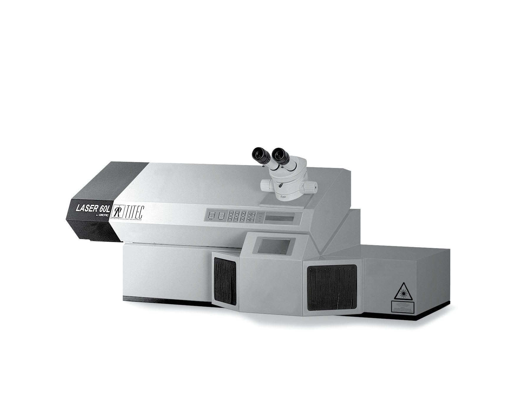 031 PORTFOLIO OROTIG TITEC 60L Industrial design di macchina per Saldatura Laser