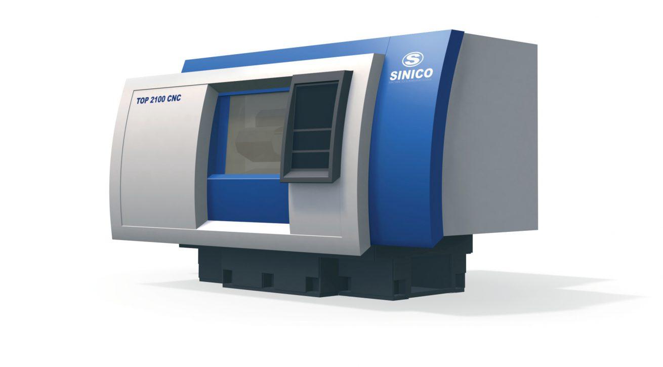 035 INTERNO SINICO TOP 2100 CNC 01 DESIGN CARROZZERIE PER MACCHINE UTENSILI