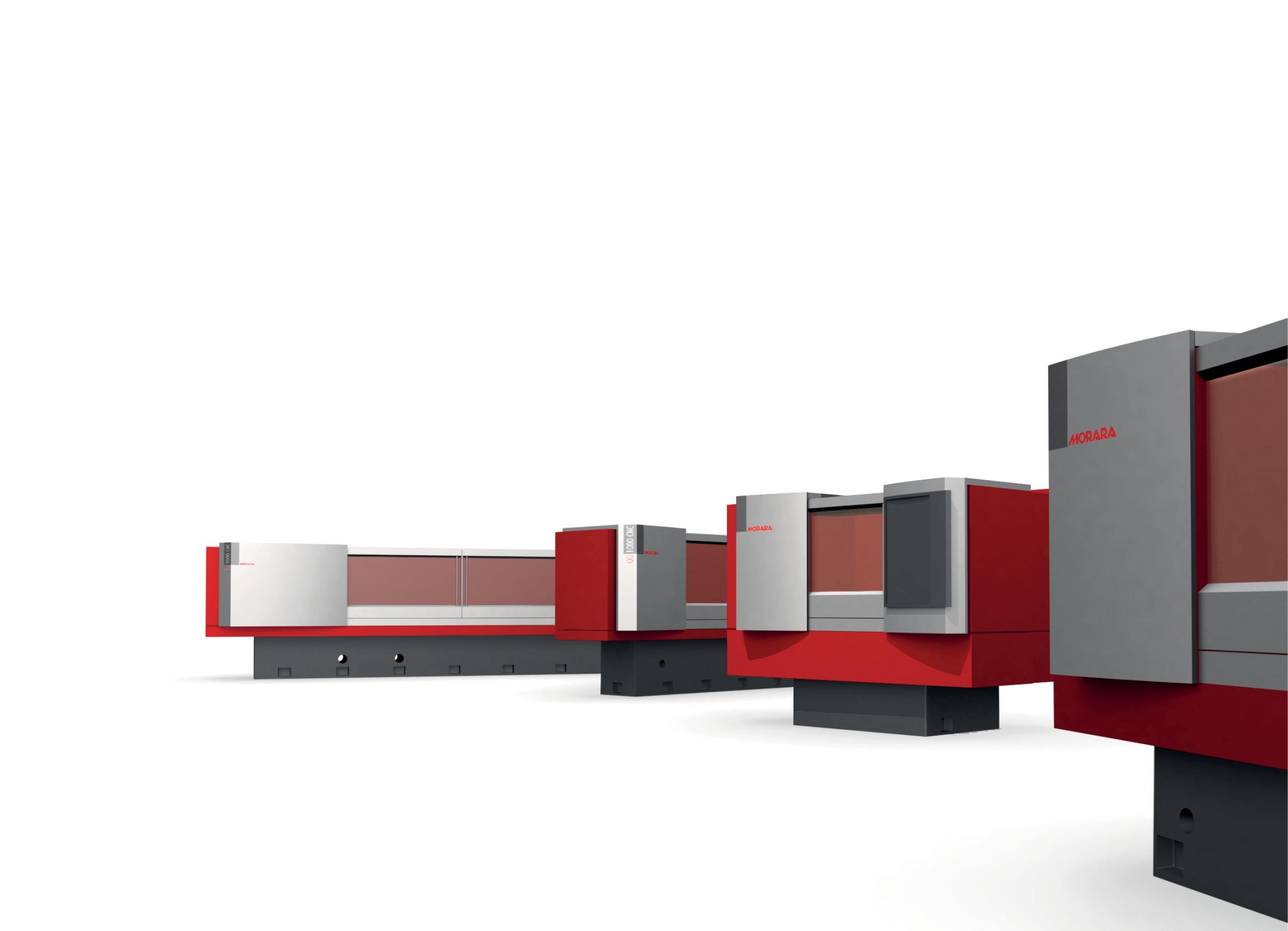 Industrial Design carrozzerie linea macchine rettificatrici MORARA