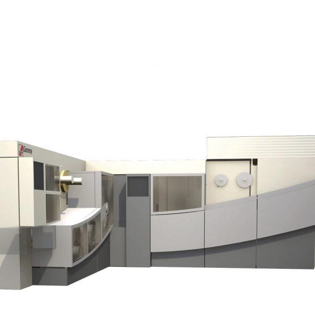 047 INTERNO SASIB SIGMA GAMMA ETA 01 Industrial design ed engineering delle carrozzerie per macchine per la produzione di sigarette. 1