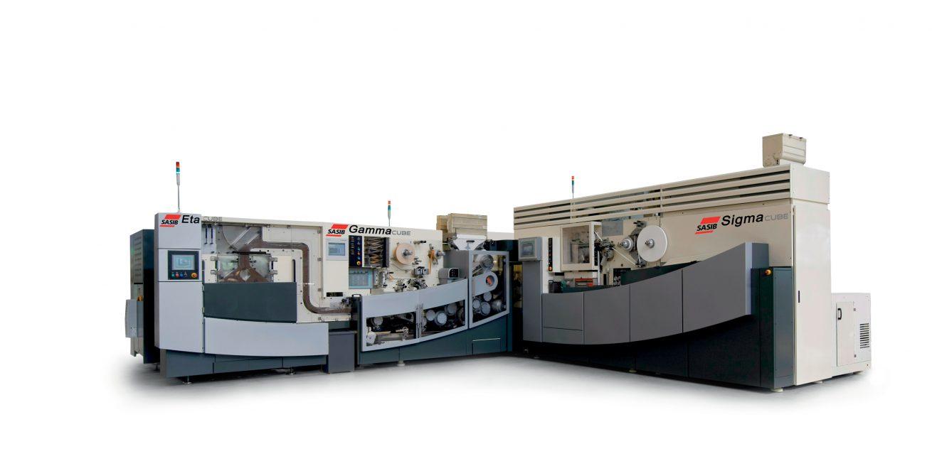 047 INTERNO SASIB SIGMA GAMMA ETA 02 Industrial design ed engineering delle carrozzerie per macchine per la produzione di sigarette.