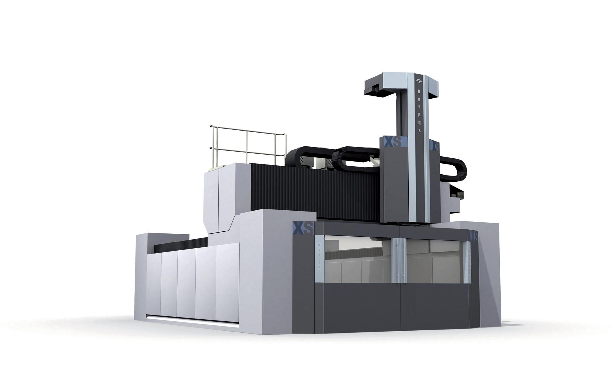 Bodywork and paneling design for machining center Parpas