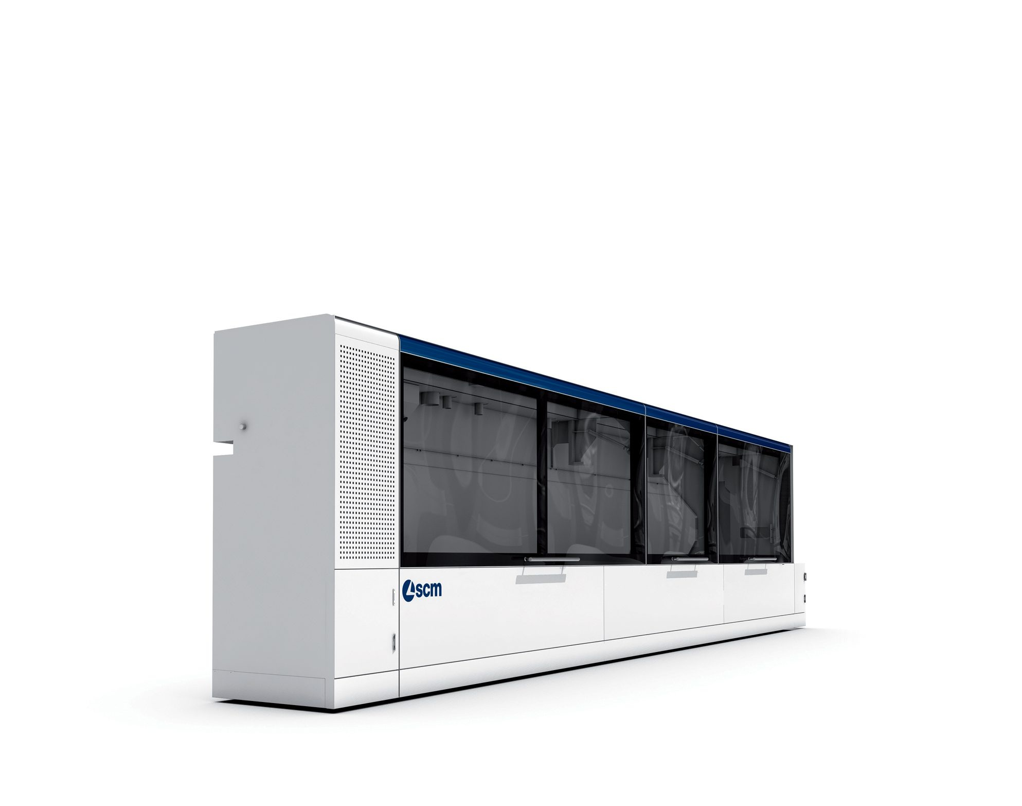 Industrial design carrozzeria macchina bordatrice SCM Group