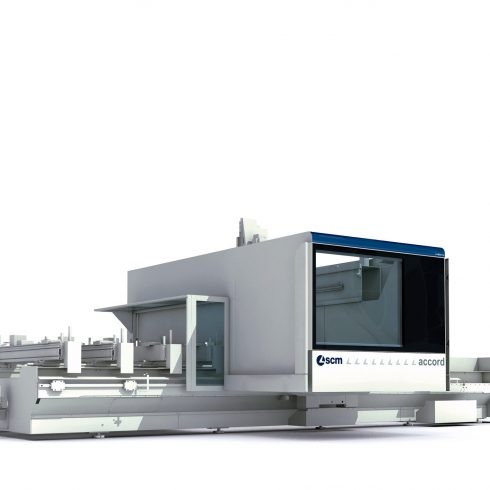 Bodywork design CNC machining center SCM Group