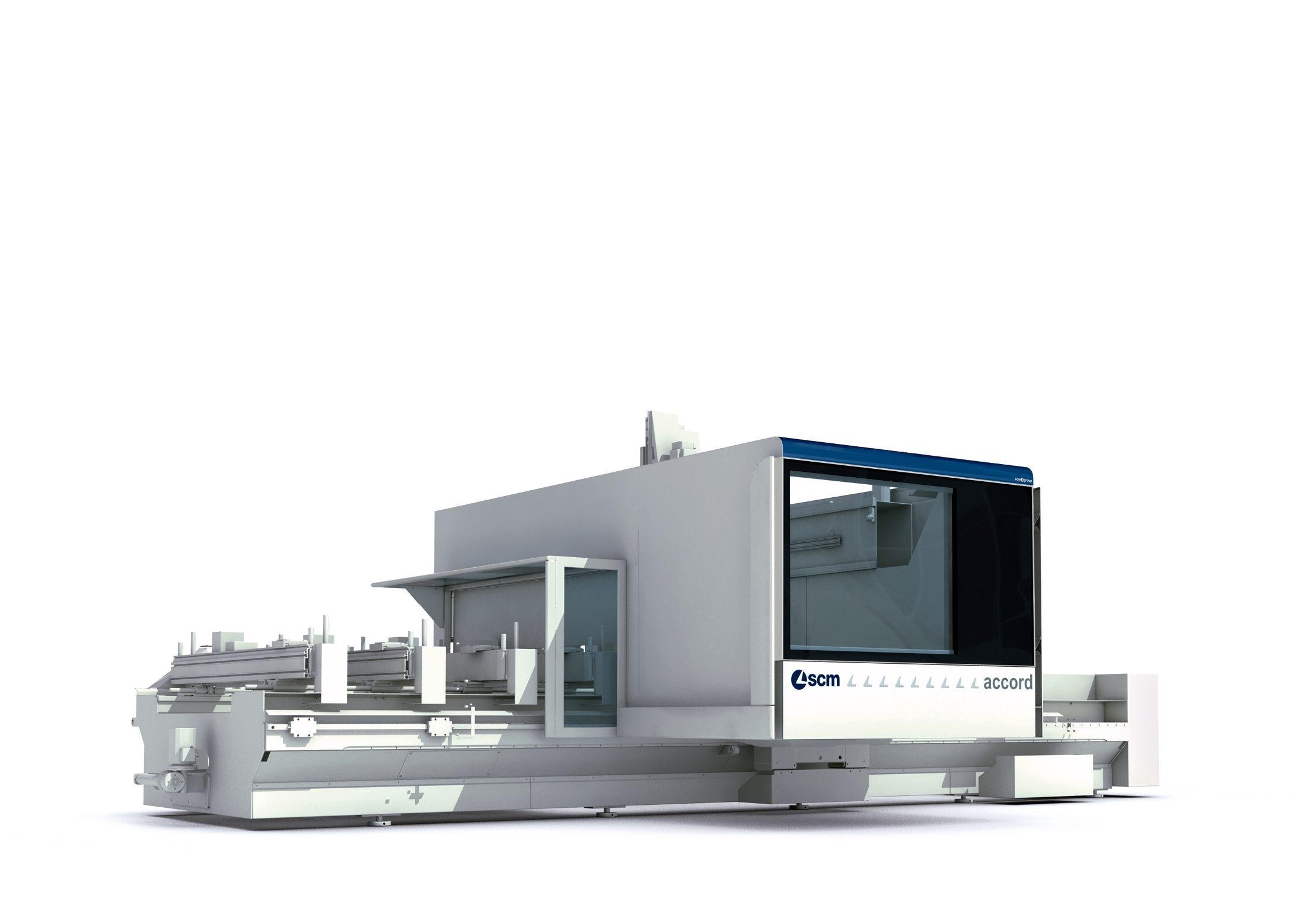 Design carrozzeria centro di lavoro CNC SCM Group