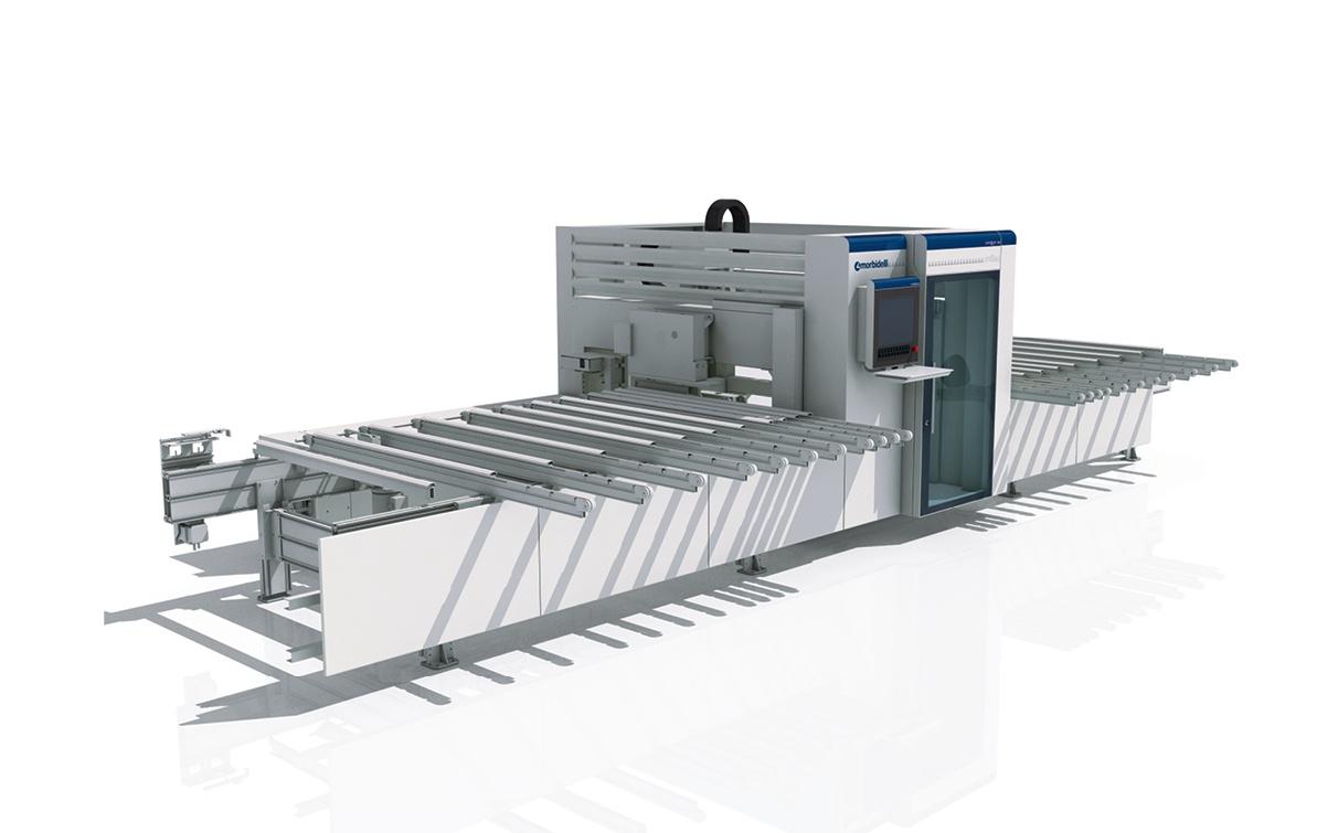 Progettazione design carrozzeria macchina foratrice SCM Group