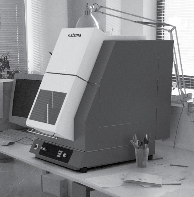 industrial design carrozzeria macchina marcatrice SISMA