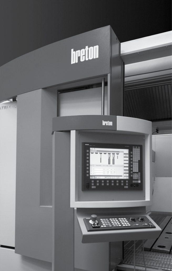 Industrial design carrozzeria e pannellature Centro di Lavoro CNC 5 Assi Breton