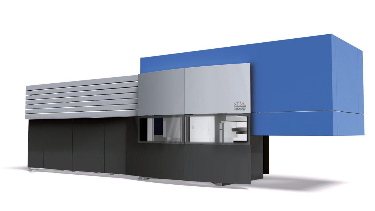 Design carrozzeria macchina stampaggio produzione preforme PET SIPA