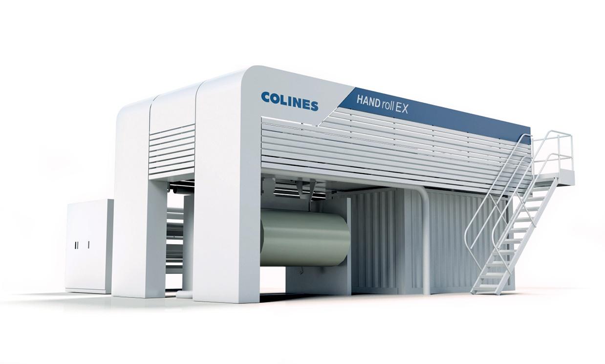 design carrozzeria impianto produzione pellicola Colines e progettazione ripari