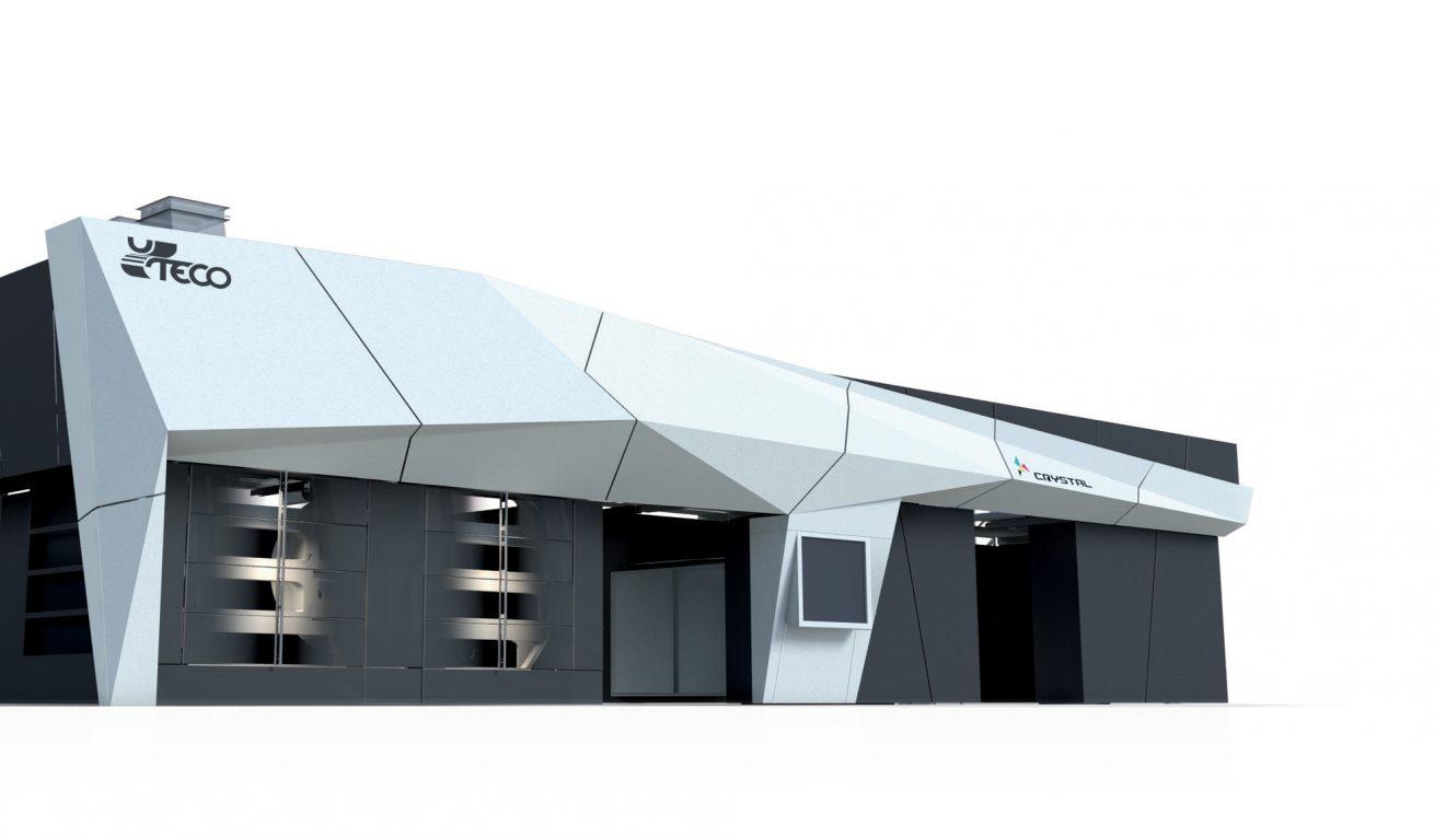 Design carrozzeria Impianto Flessografico e Progettazione Protezioni Uteco Crystal