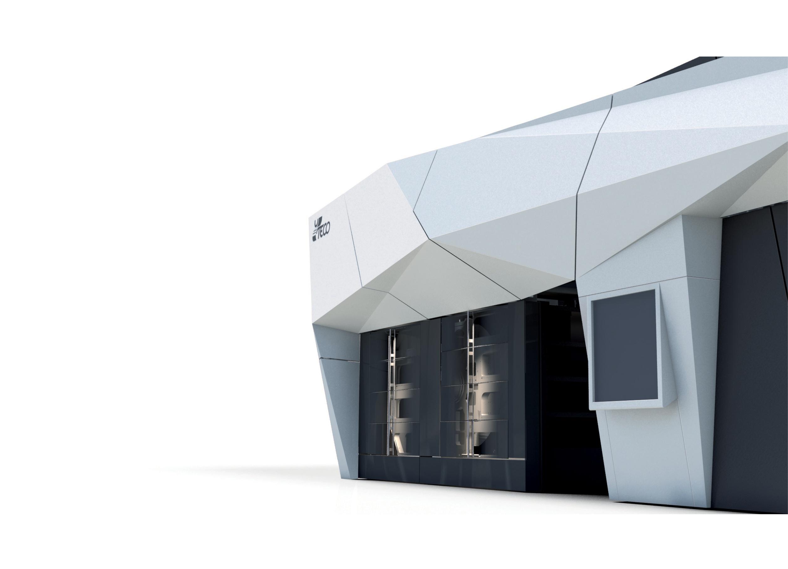 Design carrozzeria Impianto Flessografico e Progettazione Protezioni