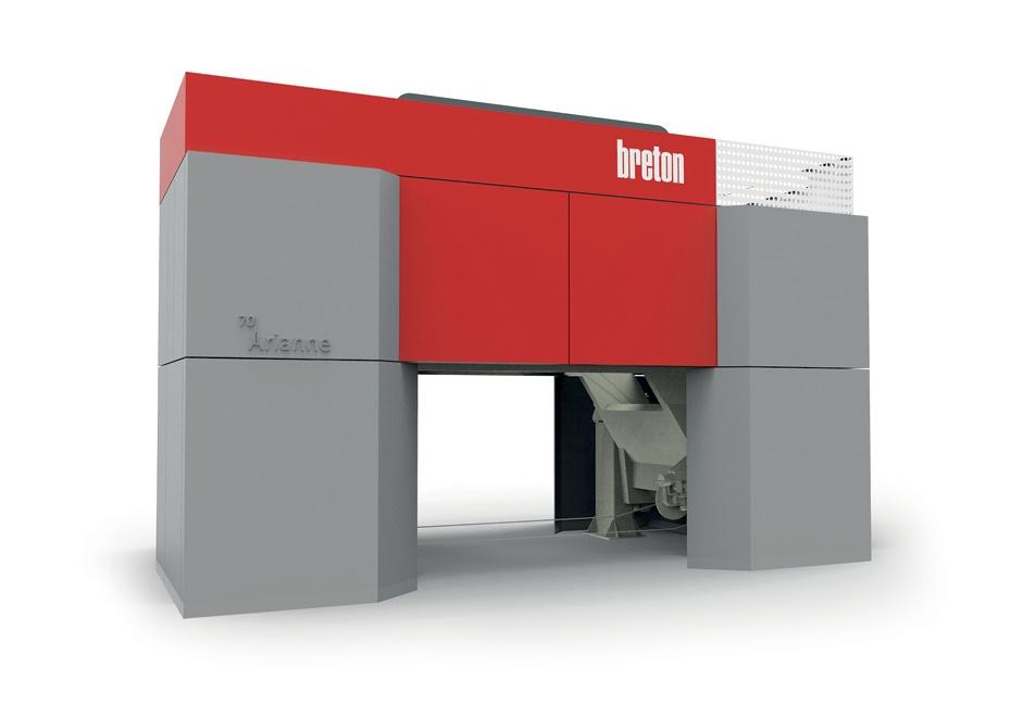 Design carrozzeria Impianto Taglio Multifilo Breton, Engineering Protezioni