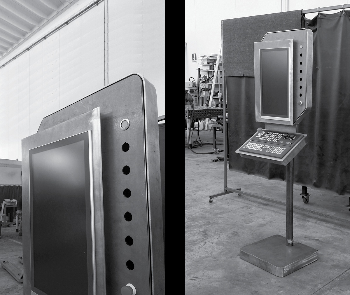 Industrial design ed engineering Consolle di Comando Giuliani-Bucci