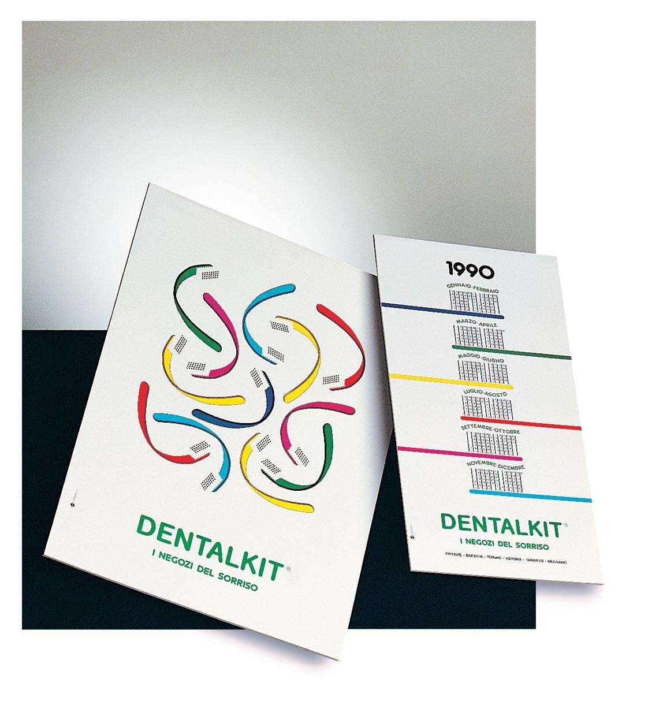 progettazione manifesto design calendario Dentalkit