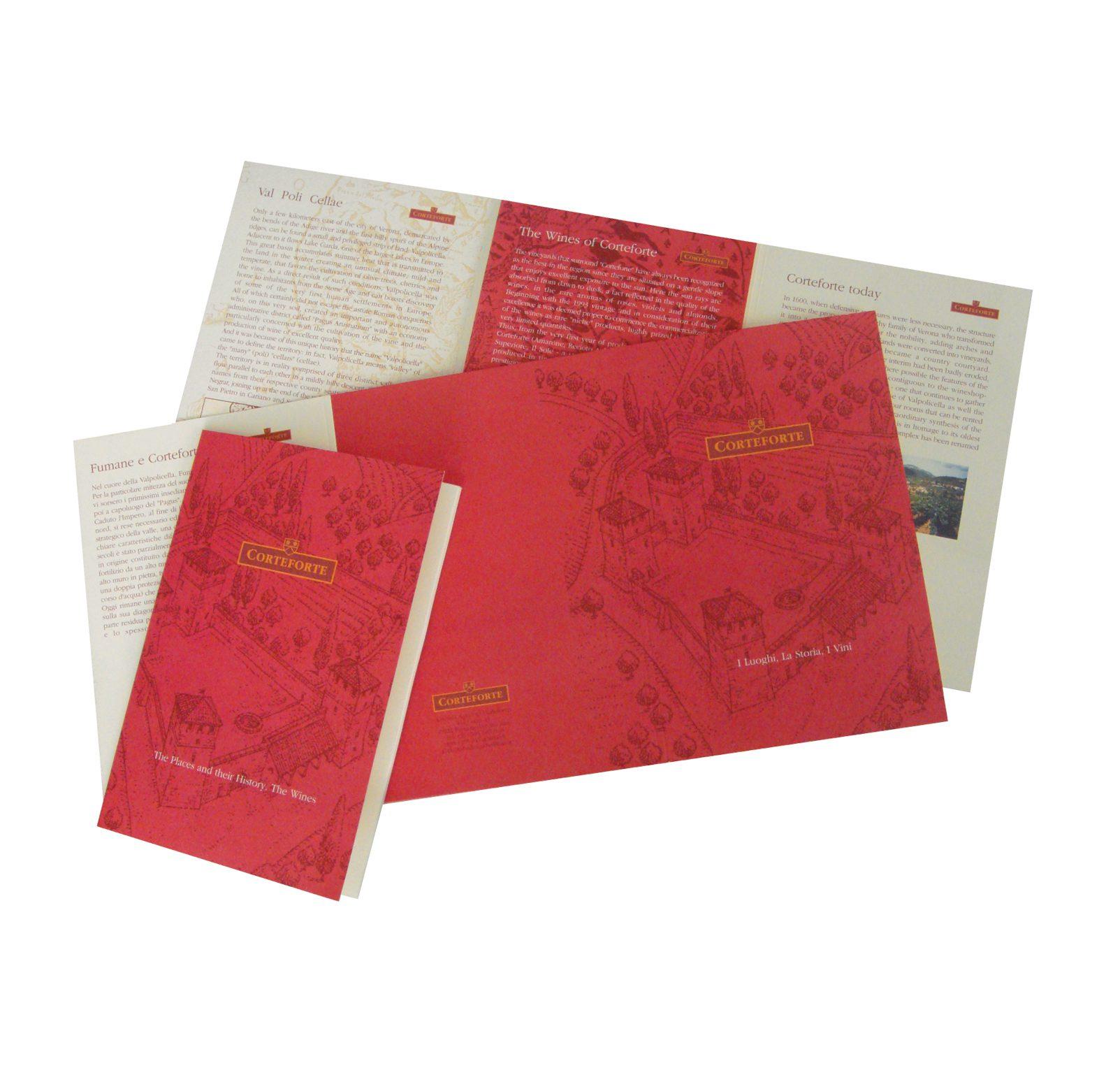 Sviluppo Brochure Aziendale, Design Company Profile Corteforte