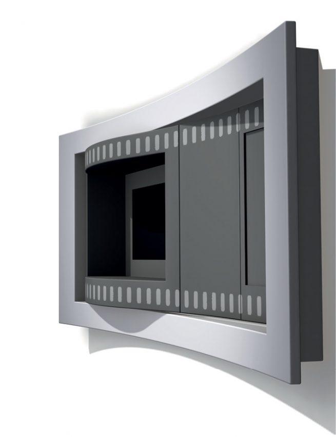 185 riello distributore videocassette interno 1 fish form studio di design e progettazione verona