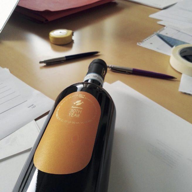 30TH Etichetta vino 2
