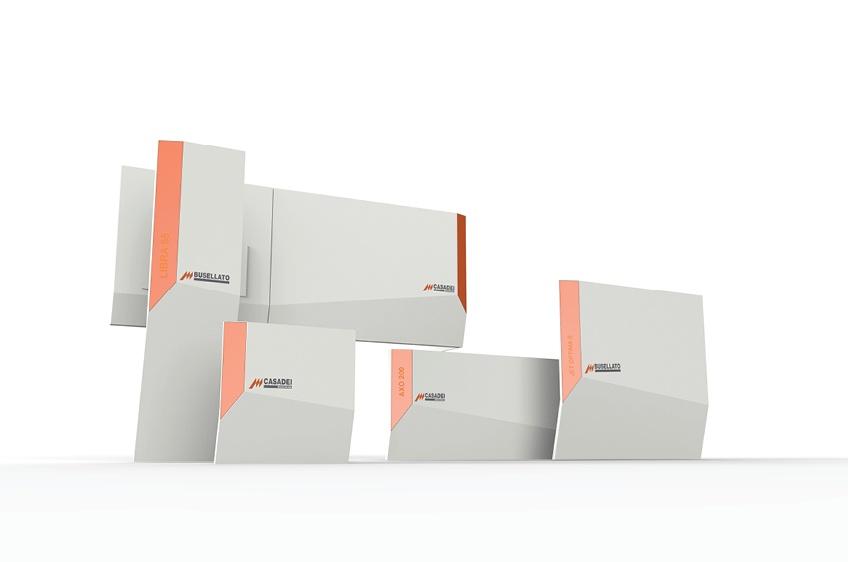 302 INTERNO BUSELLATO CASADEI IDENTITY FAMILY 01 Industrial design e progetto di coordinazione di stile per intera gamma prodotto