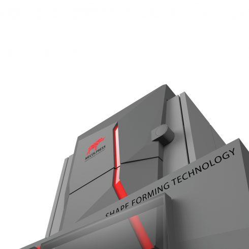 310 PORTFOLIO MECOLPRESS SEO SERIES Industrial design ed engineering della carrozzeria per Pressa Meccanica