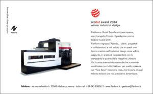 Campagna Stampa fishform 2014_07 REDDOT