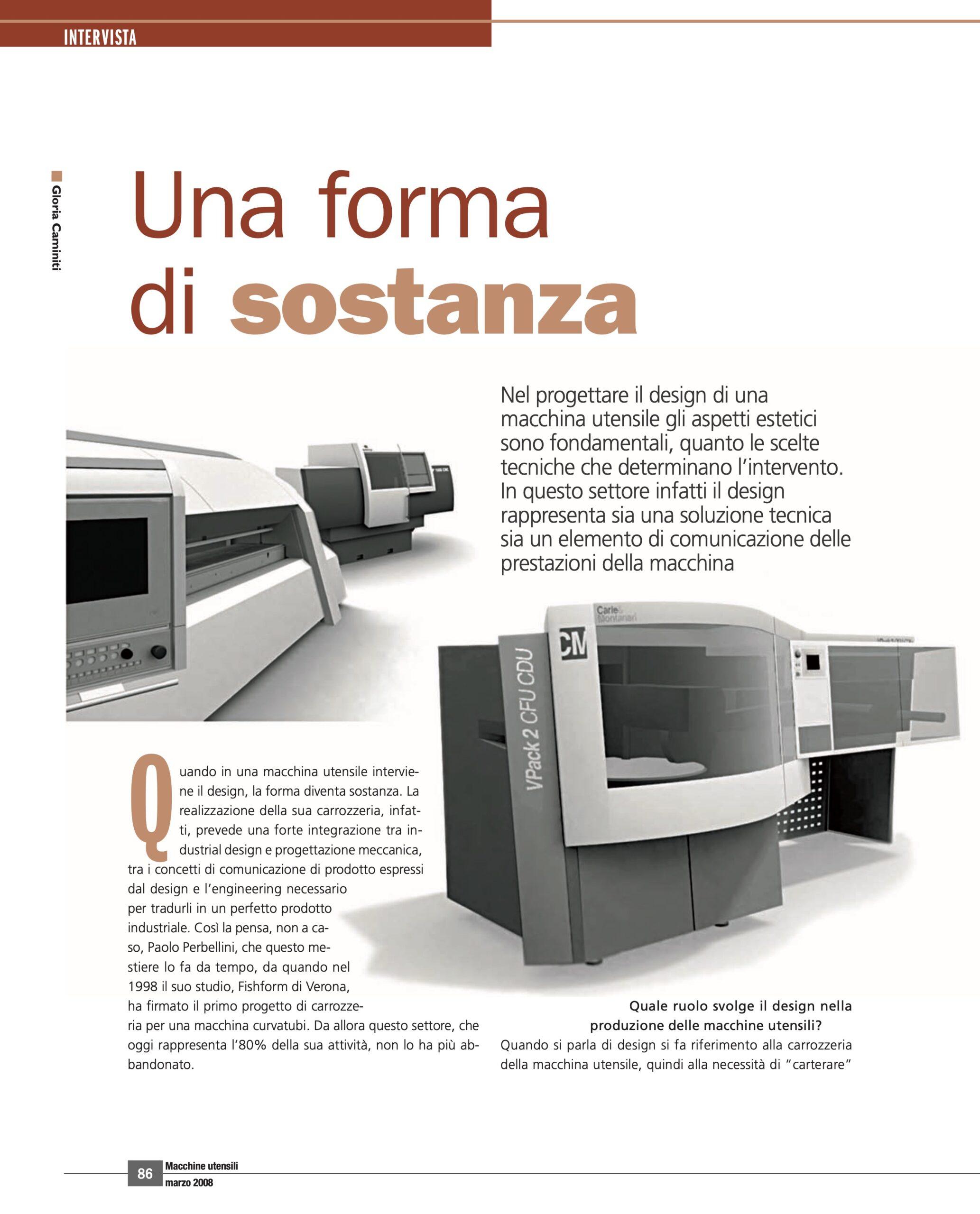 Macchine Utensili Intervista Marzo 2008